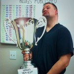1000 Blogs Published Trophy