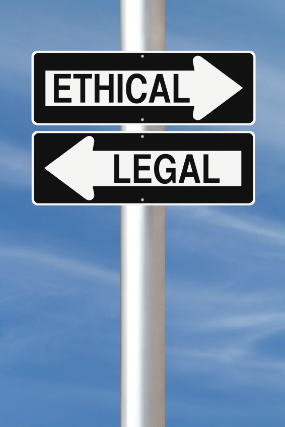 Ethical vs. Legal
