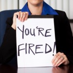 You're Fired Sign